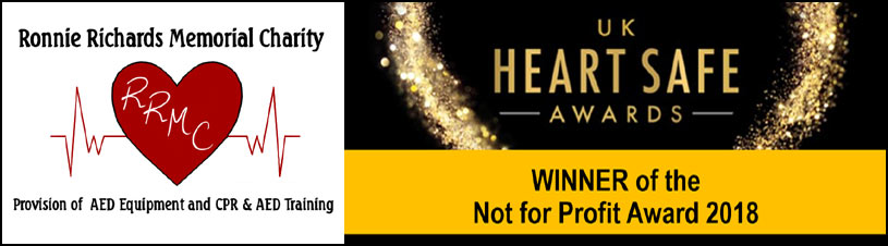 RRMC - Provision of AED Equipment & CPR & AED Training - UK Heartsafe Award Winner Not For Profit 2018