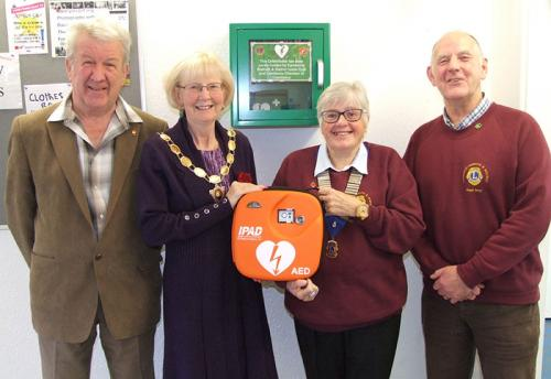 Camborne & Redruth District Lions Club Camborne Indoor Market PAD Presentation