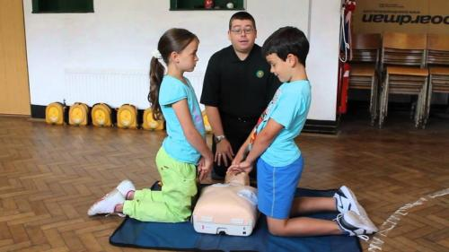 Lucy & Jago Rogers CPR & AED