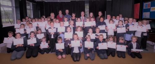 Sennen Primary School First Aid Certification RRMC HDS 200th PAD Celebration